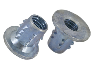 Flanged Insert Nuts Type B, Press-in Inserts