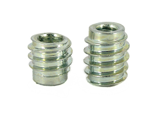 Steel Insert Nuts Type E, Self-tapping Inserts, Threaded Inserts