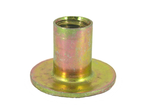 Round Base Weld Nuts, Spot Welded