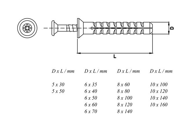 Fishlike Wall Plugs, Frame Plugs, Nylon Frame Fixing, Nail Anchors