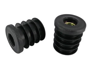 Round Tube Inserts, Threaded Inserts
