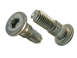 flat head shoulder screws
