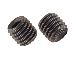 Set Screws Knurled Point