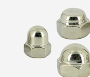 hex cap nuts, dome nuts