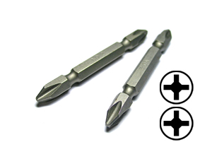 Double way phillips insert bits